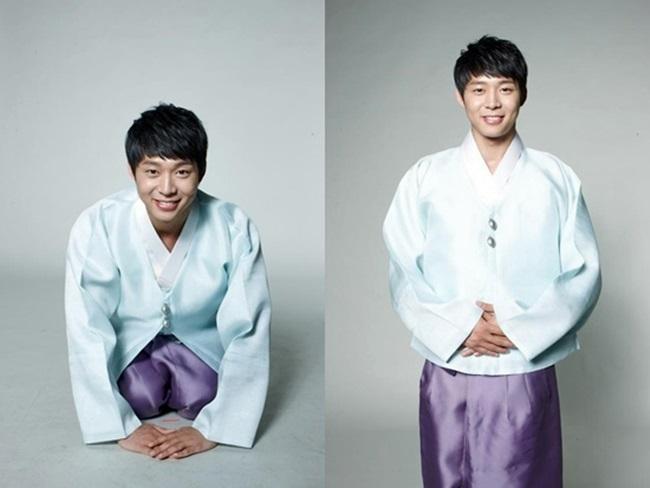 Sao Hàn xinh đẹp trong trang phục hanbok đón năm mới - 17
