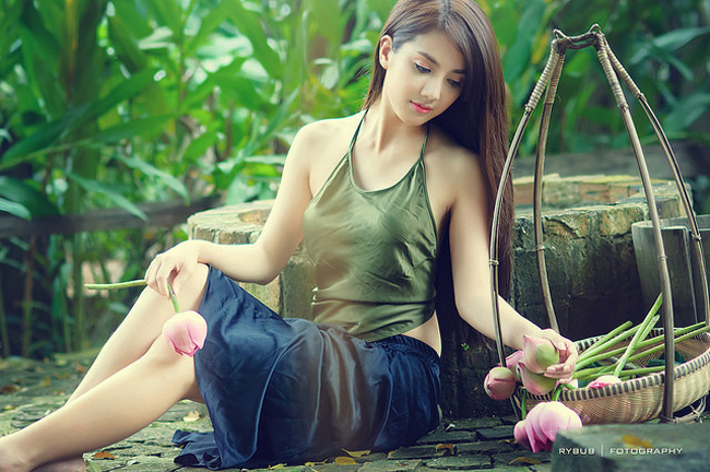 Say lòng trước vẻ đẹp của hot girl tuổi Mùi - 7