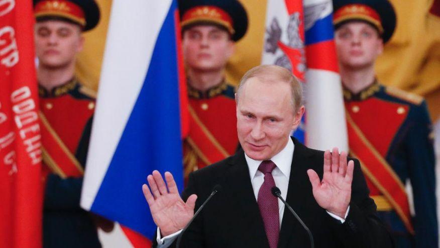 Putin: Sức mạnh quân sự Nga là vô đối - 1