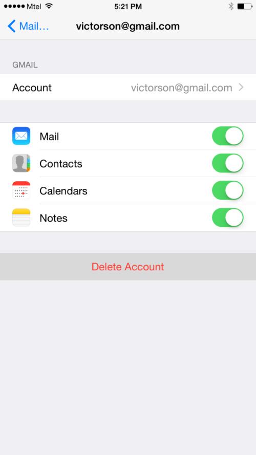 Từng bước cài đặt tài khoản Google trên iPhone 6 - 6