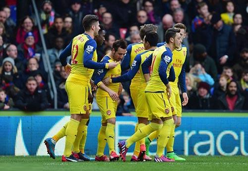 C.Palace - Arsenal: Chiến quả nhọc nhằn - 1