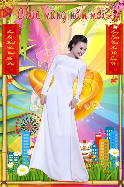 Lan Ngọc hóa thiếu nữ Việt đài các trong bộ ảnh Tết - 2