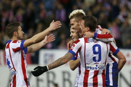 Atletico - Almeria: Giải quyết chóng vánh - 1
