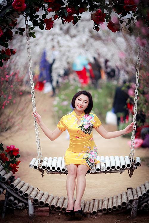 Sắc màu thời trang du xuân của bạn trẻ Hà Nội - 3
