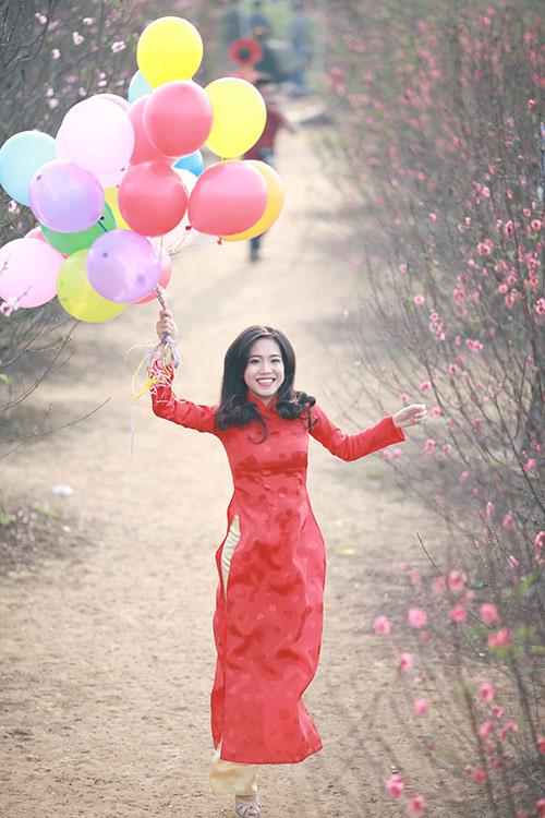 Sắc màu thời trang du xuân của bạn trẻ Hà Nội - 5