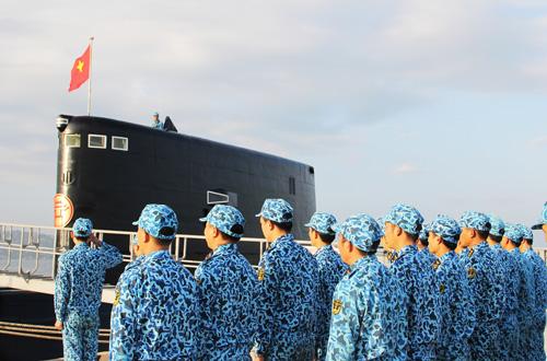 Năm mới kể chuyện lính tàu ngầm Kilo 636 rèn sức khỏe - 11
