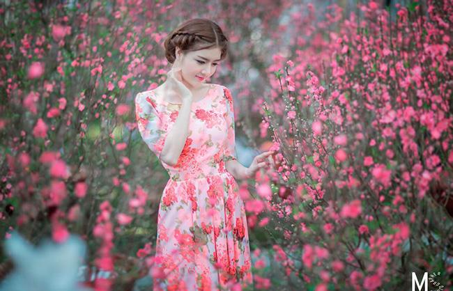 Ảnh du xuân tuyệt đẹp của hot girl Việt - 3