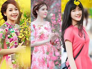 Ảnh du xuân tuyệt đẹp của hot girl Việt