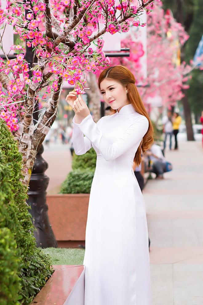 Ảnh du xuân tuyệt đẹp của hot girl Việt - 4