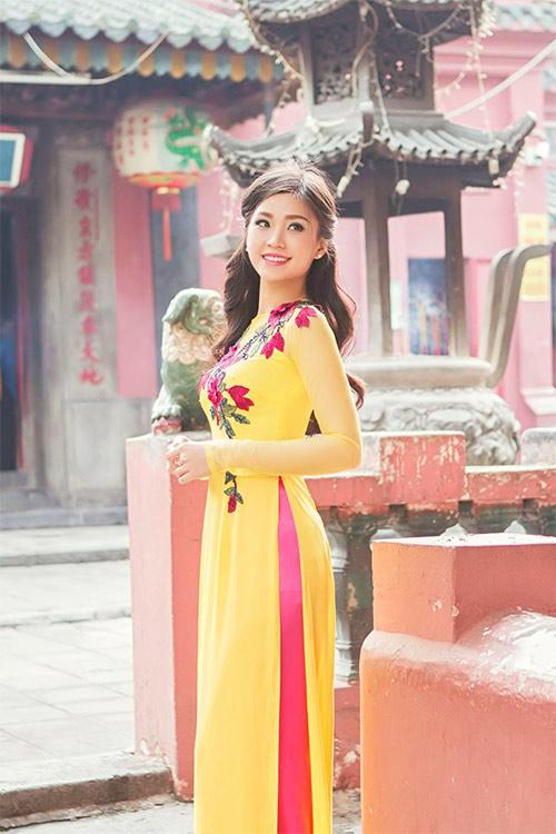 Ảnh du xuân tuyệt đẹp của hot girl Việt - 8