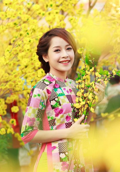Ảnh du xuân tuyệt đẹp của hot girl Việt - 6