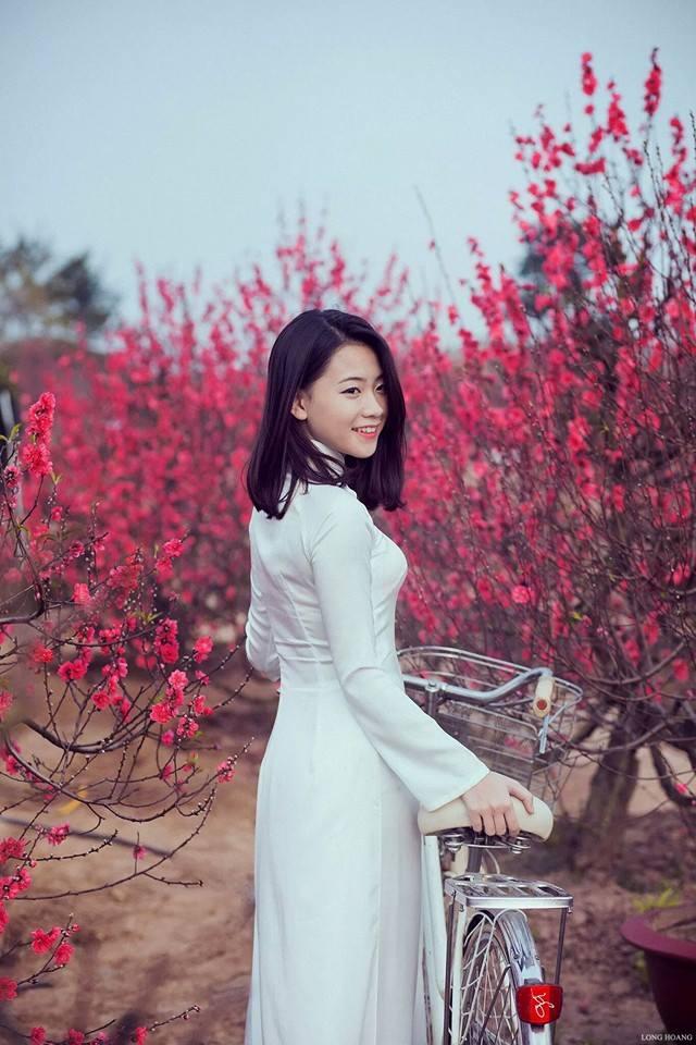 Ảnh du xuân tuyệt đẹp của hot girl Việt - 17