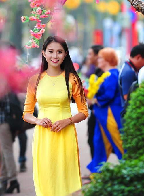 Ảnh du xuân tuyệt đẹp của hot girl Việt - 19