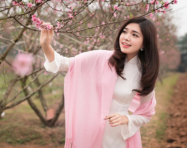 Ảnh du xuân tuyệt đẹp của hot girl Việt - 16
