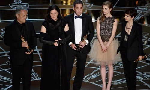 """""""Người chim"""" giành giải phim xuất sắc nhất Oscar 87 - 8"""