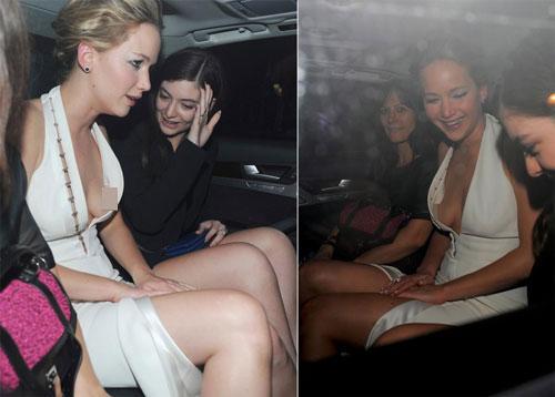 Sao bối rối vì lỗi váy áo hớ hênh - 3
