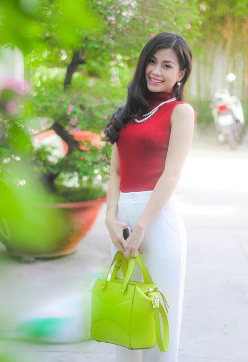 """""""Cân đo"""" phong độ thời trang của 3 nàng hoa, á hậu Việt - 10"""