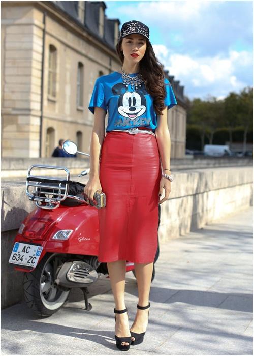 Luôn có cách để mặc đẹp với chiếc váy đỏ - 8