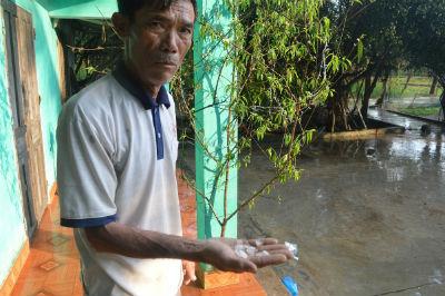 Mưa đá xuất hiện hiếm gặp ở Thanh Hoá - 2