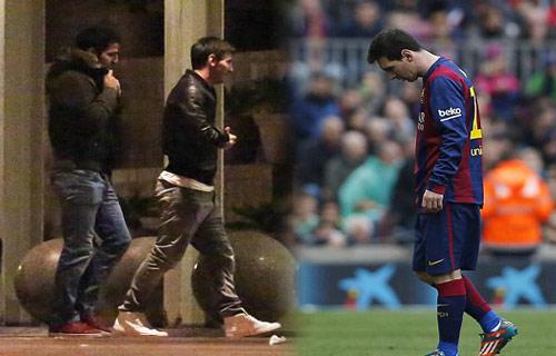Messi vào... sòng bài xả stress - 6
