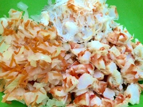 Cách làm nem bơ hải sản ngon - 3