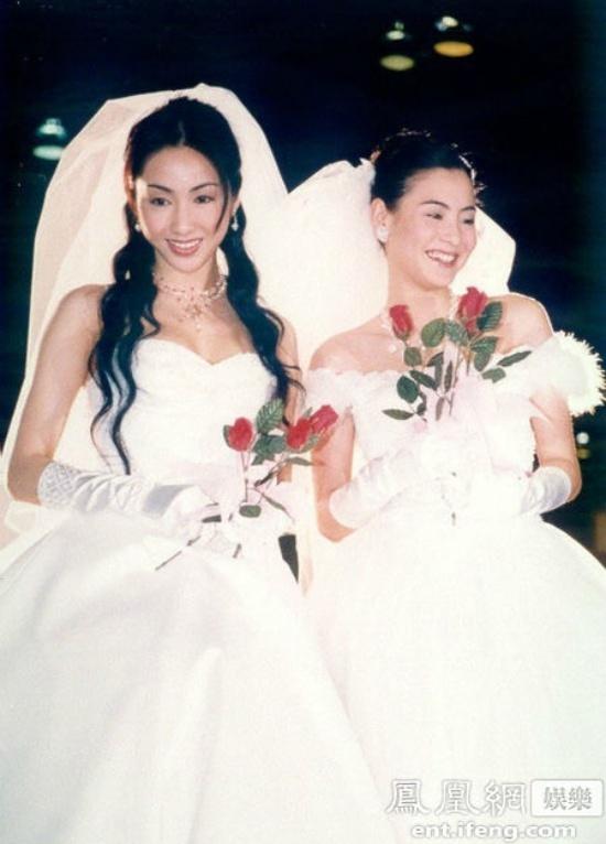 Ảnh Trương Bá Chi, Lê Tư mặc váy cưới gây tiếc nuối - 1