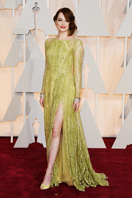 10 chiếc váy đẹp nhất Oscars 2015 - 1