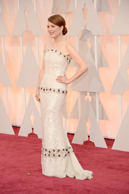 10 chiếc váy đẹp nhất Oscars 2015 - 4