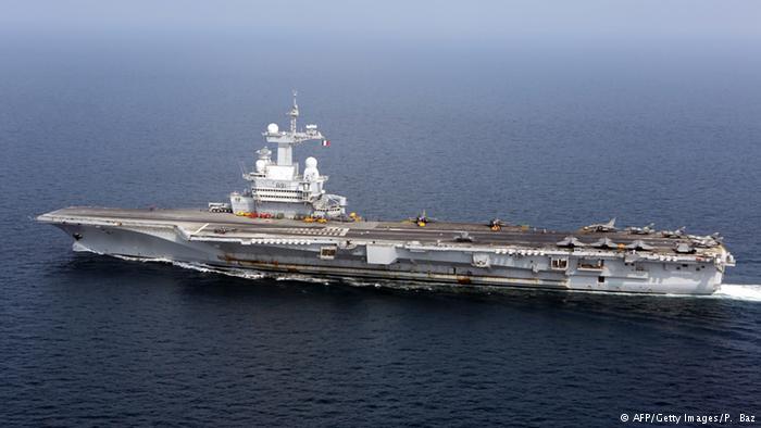 Pháp điều tàu sân bay tới Vùng Vịnh chống IS - 1