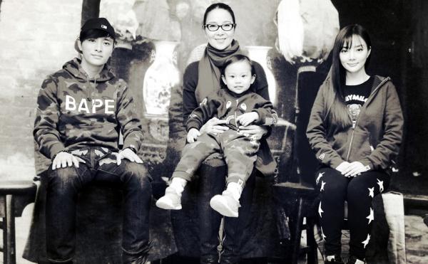 """Những bức ảnh gia đình """"đắt giá"""" của sao Hoa ngữ - 6"""
