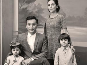 """Những bức ảnh gia đình """"đắt giá"""" của sao Hoa ngữ"""