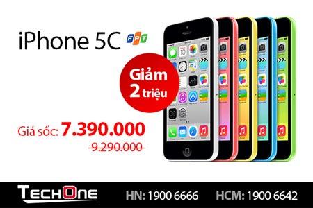 Samsung Alpha, iPhone 5C bất ngờ hạ giá gần 3 triệu đồng - 3