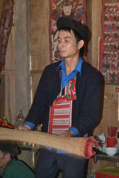 Ăn chay, cấm kỵ cười đùa trong lễ cấp sắc của người Dao - 2
