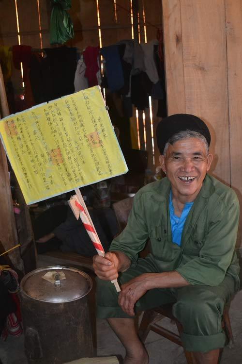 Ăn chay, cấm kỵ cười đùa trong lễ cấp sắc của người Dao - 10