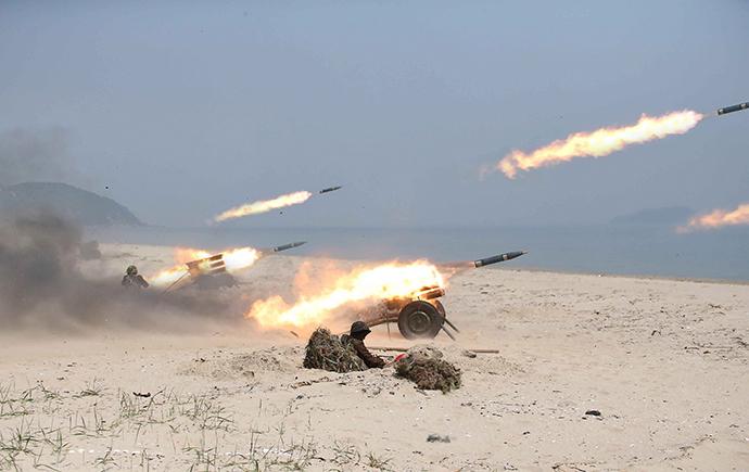 Bị Triều Tiên đe dọa, Mỹ-Hàn vẫn sẽ rầm rộ tập trận - 2