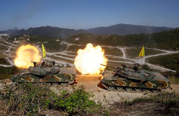 Bị Triều Tiên đe dọa, Mỹ-Hàn vẫn sẽ rầm rộ tập trận - 1