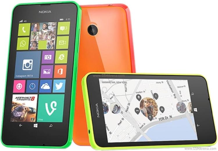 """Lumia 635 bản RAM 1GB đang """"kén chọn"""" thị trường bán - 1"""