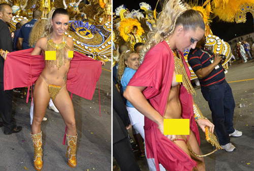 Choáng ngợp trước vẻ lộng lẫy của vũ công Brazil - 5