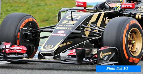 F1 2015: Ẩn số mang tên Lotus E23 - 1