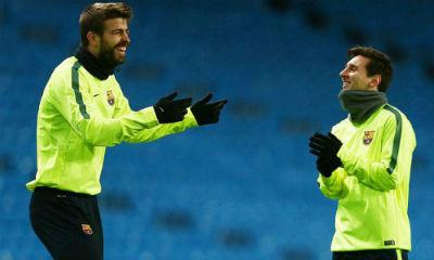 TRỰC TIẾP Man City - Barca: Messi sút hỏng phạt đền - 9