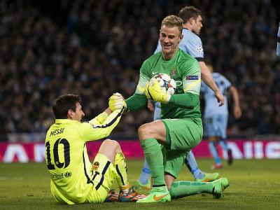 TRỰC TIẾP Man City - Barca: Messi sút hỏng phạt đền - 19