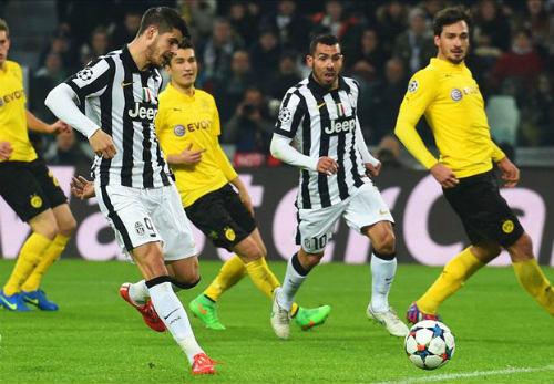 Juventus – Dortmund: Thế trận kịch tính - 1