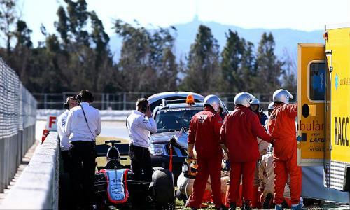 McLaren lo sốt vó vụ Alonso tai nạn nghiêm trọng - 1