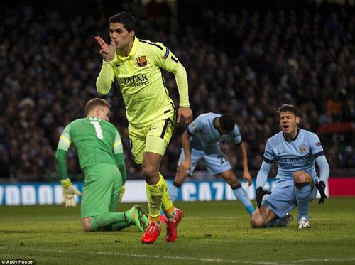 Enrique bênh vực Messi, Suarez được đối thủ khen - 2