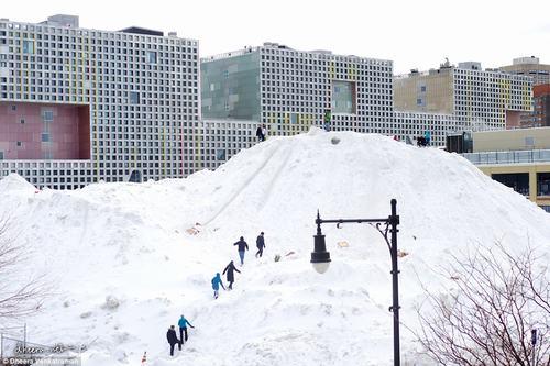 Chùm ảnh ấn tượng về đợt lạnh kỷ lục ở Mỹ - 2