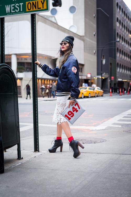 Hoàng Thùy mặc ấn tượng dạo phố New York - 6