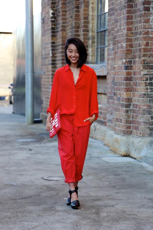 Học fashionista mặc đẹp và đúng mốt ngày xuân - 5