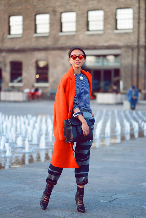 Học fashionista mặc đẹp và đúng mốt ngày xuân - 4