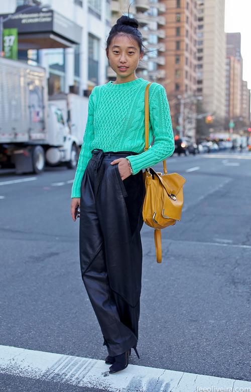 Học fashionista mặc đẹp và đúng mốt ngày xuân - 6