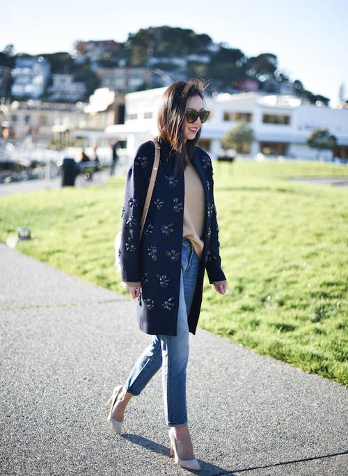 Học fashionista mặc đẹp và đúng mốt ngày xuân - 11